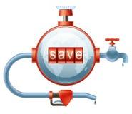 Sauf des ressources énergétiques Photo libre de droits