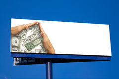 Sauf l'argent haut ! Images stock