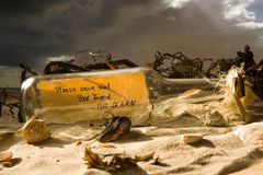 Sauf l'océan Photos stock