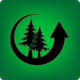 Sauf la forêt Photographie stock libre de droits