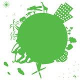 Sauf la planète ! Photo stock