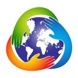 Sauf la planète Image libre de droits