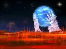 Sauf la planète Photos libres de droits