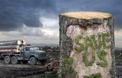 Sauf les arbres ! Photos stock