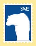Sauf les ours blancs Illustration Libre de Droits