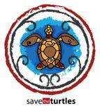 Sauf les tortues Photographie stock