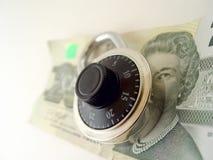 Sauf votre argent Image libre de droits