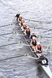 Saugatuck races in the Head of Charles Regatta Stock Photography