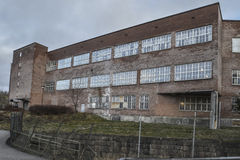Saugbrugs造纸厂(工厂的部分) 免版税库存图片