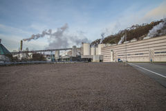 Saugbrugs造纸厂(PM6) 库存照片