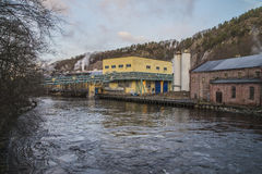 Saugbrugs paper mill (old Ankers) Stock Photo