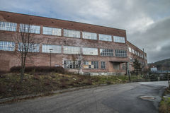Saugbrugs paper mill (parts of the factory) Stock Photography