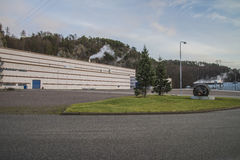 Saugbrugs paper mill (PM6) Royalty Free Stock Photos