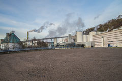 Saugbrugs paper mill (PM6) Royalty Free Stock Photo