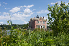 Saugerties Lighthouse Royalty Free Stock Images