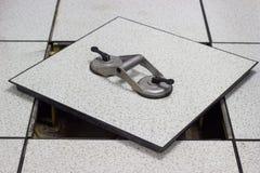 Saugheber - Werkzeugplattform Lizenzfreie Stockfotos