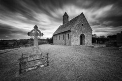 Saul Church. Near Downpatrick, Co. Down, Northern Ireland Royalty Free Stock Photo