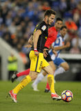 Saul Niguez van Atletico DE Madrid Stock Fotografie