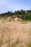 Saulkrasti, η θάλασσα της Βαλτικής, Λετονία στοκ φωτογραφία με δικαίωμα ελεύθερης χρήσης
