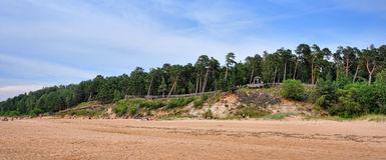 Saulkrasti, Baltic Sea, Latvia. royalty free stock photography