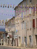 Sault. Street view in Provence Royalty Free Stock Photo