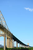 Sault Ste. Marie International Bridge Royalty Free Stock Images