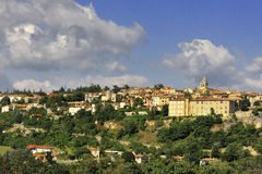 Sault. View of the medieval town Sault, Luberon, southern France Stock Photography