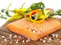 Saumon? - filet de poissons photos stock