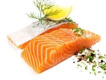 Saumon? - filet de poissons photographie stock libre de droits