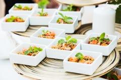 Saumons épicés de poissons de la Thaïlande Photo stock