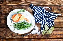 Saumons photographie stock libre de droits