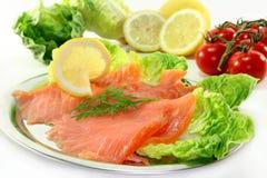 Saumons image stock