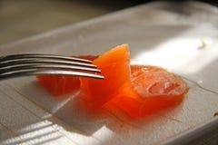 Saumons images libres de droits