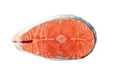 Saumons crus Photographie stock
