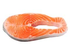 Saumons crus photographie stock libre de droits