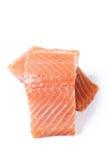 Saumons crus photos libres de droits