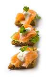saumons de canape Photographie stock