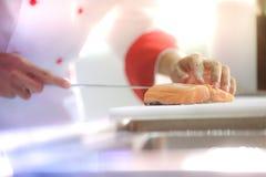 Saumons de coupe images libres de droits
