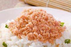 saumons de riz Photographie stock