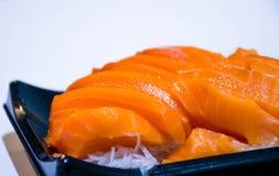 Saumons de sushi Image stock