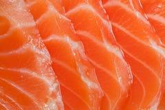 saumons frais Photos libres de droits