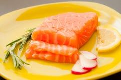Saumons frais Photographie stock
