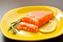 Saumons frais Images libres de droits