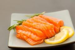 Saumons frais Images stock