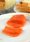 Saumons frais Image libre de droits