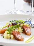 Saumons légèrement salés photographie stock libre de droits