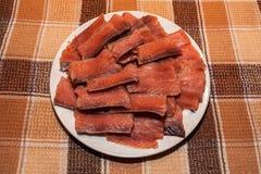 Saumons marinés de copain Image libre de droits