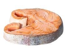 Saumons rôtis Photos libres de droits