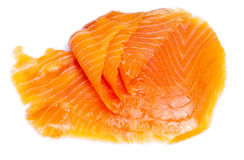 Saumons salés photographie stock