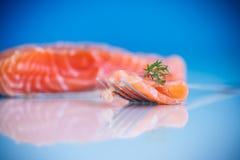 Saumons salés Images stock